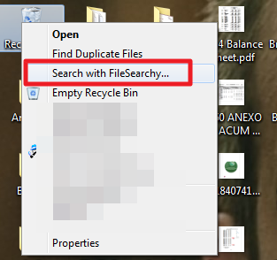 how to search through a document not pdf