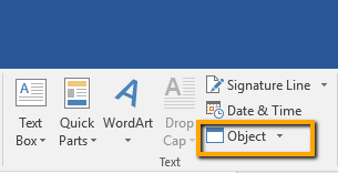 insert pdf file into word document