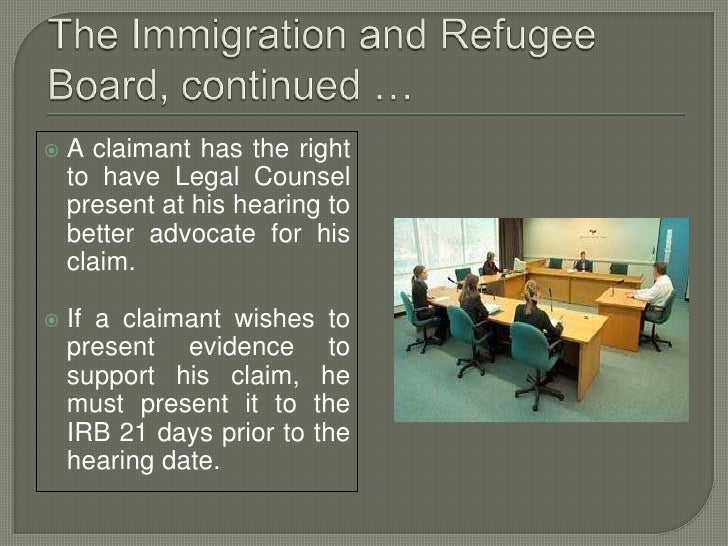 lost refugee protection claimant document
