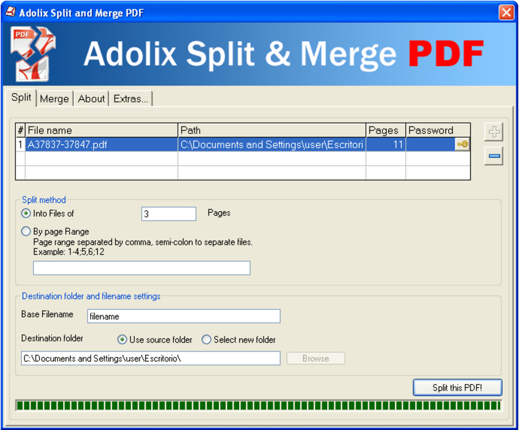 merge pdf pages into one document