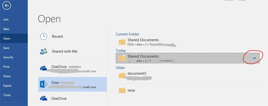 microsoft document connection sharepoint mac