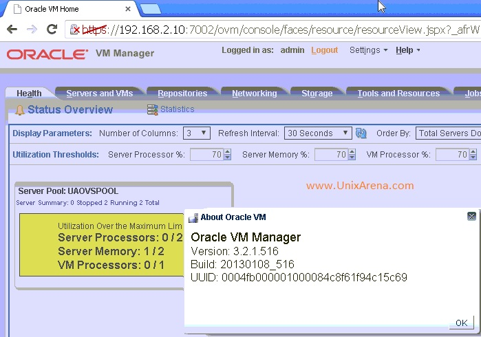 oracle vm manager documentation