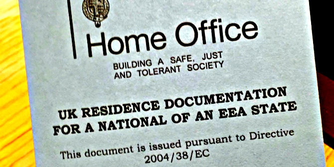 permanent resident card document number