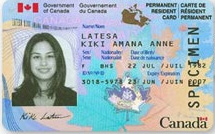 permanent resident travel document canada processing time