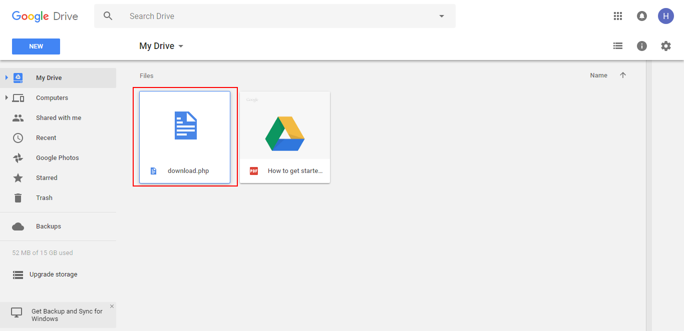 retrieve deleted document on google drive