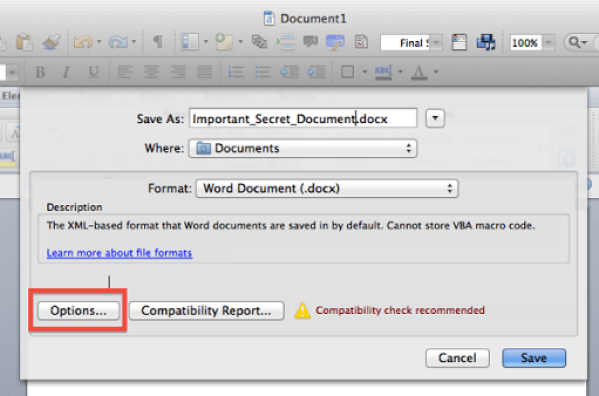 save a word document as a png