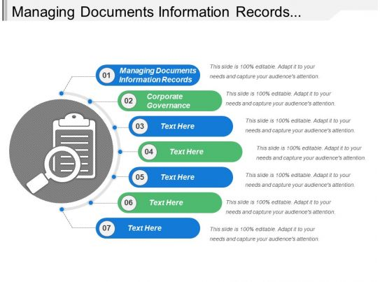 what is a corporate search documentation