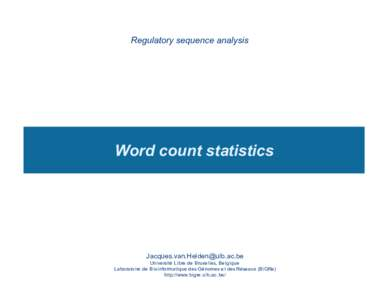 word count in pdf document