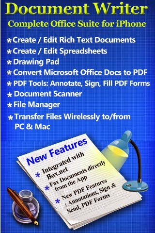 word document writer for ipad